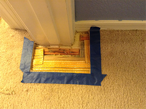 Carpet Repair Process